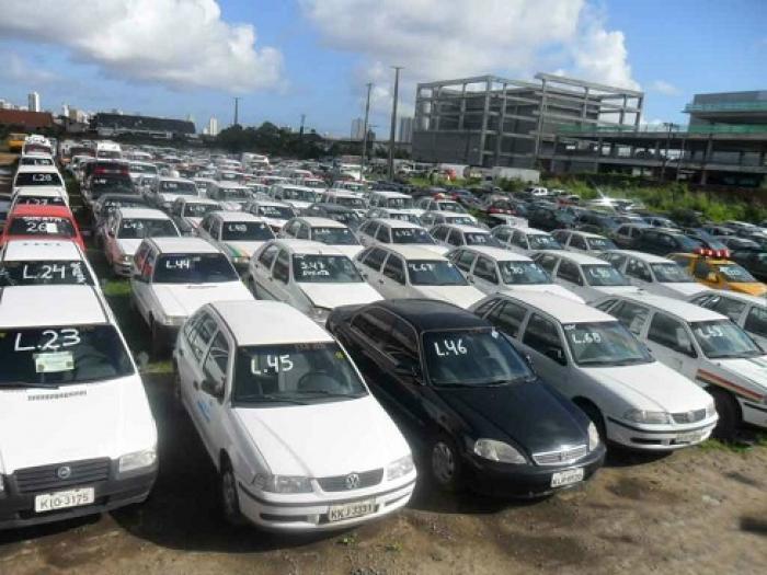 Detran-BA promove leilões com 655 veículos com lances a partir de R$ 50